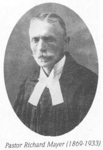 Pastor Richard Mayer