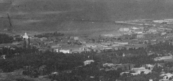 ალექსანდერსდორფი თბილისის პანორამული ხედიდან