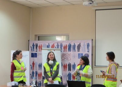 "First volunteers' training in ""First Aid to Cultural Heritage in Times of Crisis"" held in Tbilisi"