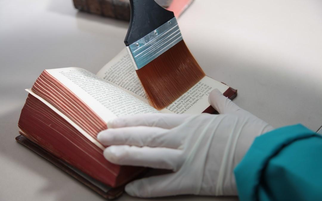 ობის პრობლემა თსუ-ს ბიბლიოთეკის საცავებში და მისი აღმოფხვრის გზები