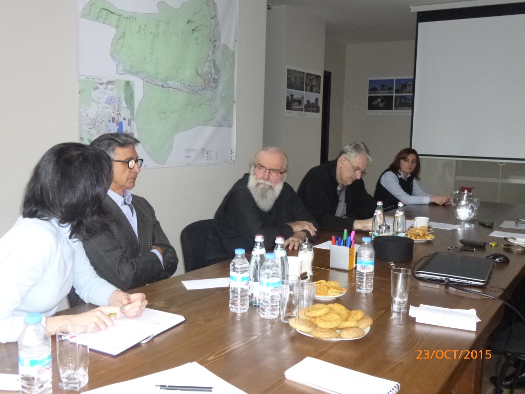 Meeting with Mtskheta Master Plan Working Group