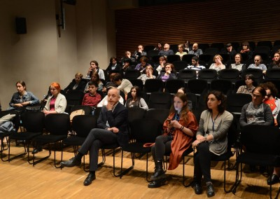 Manana Tevzadze's Public lecture on Protection of Cultural Heritage during Emergencies