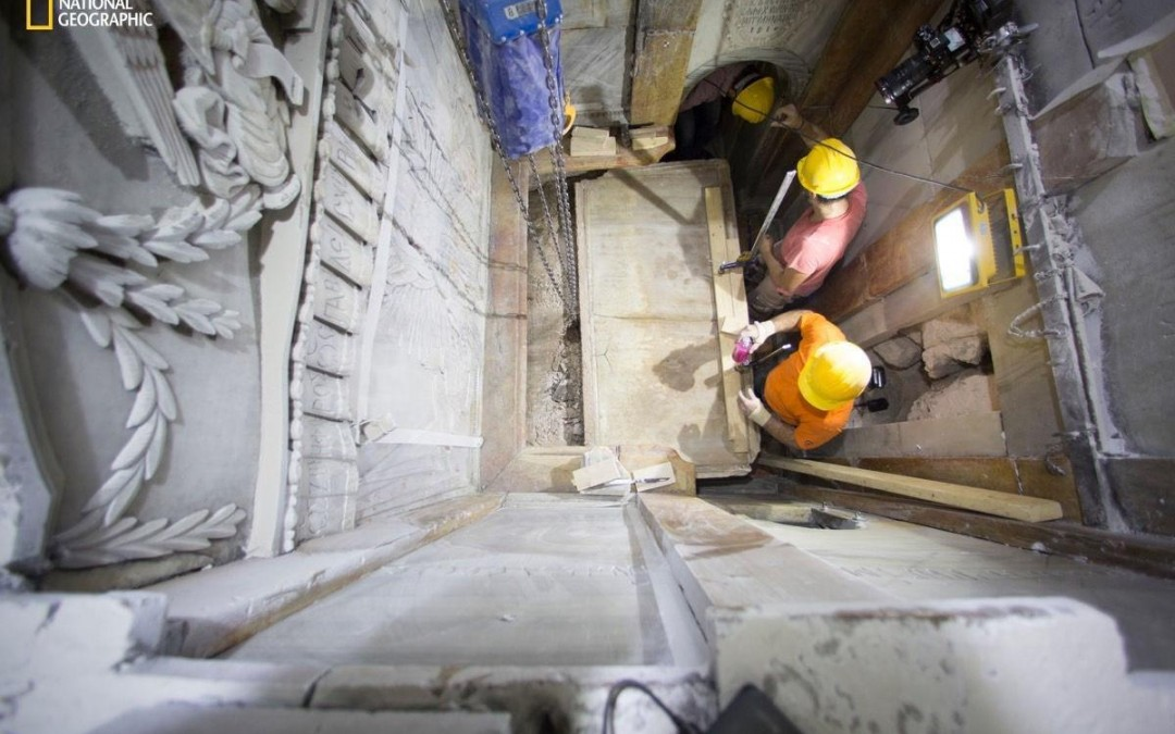 As scientists report, Christ's tomb has been unsealed after centuries