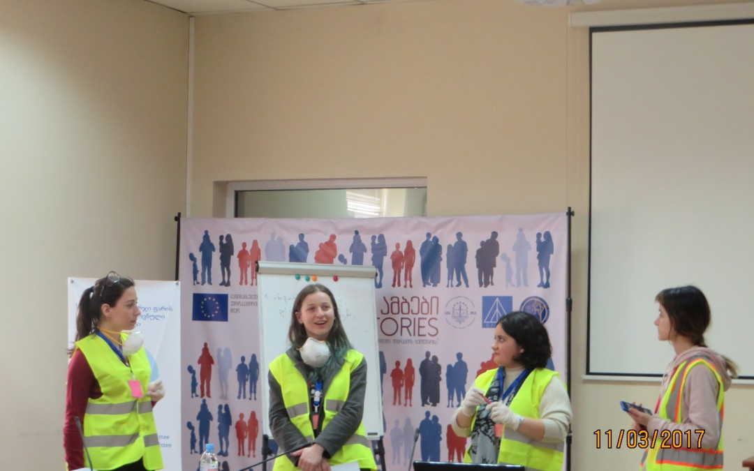 """First volunteers' training in """"First Aid to Cultural Heritage in Times of Crisis"""" held in Tbilisi"""