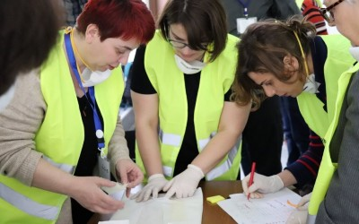 Training in First aid to Cultural heritage in times of crisis at National Archives of Georgia