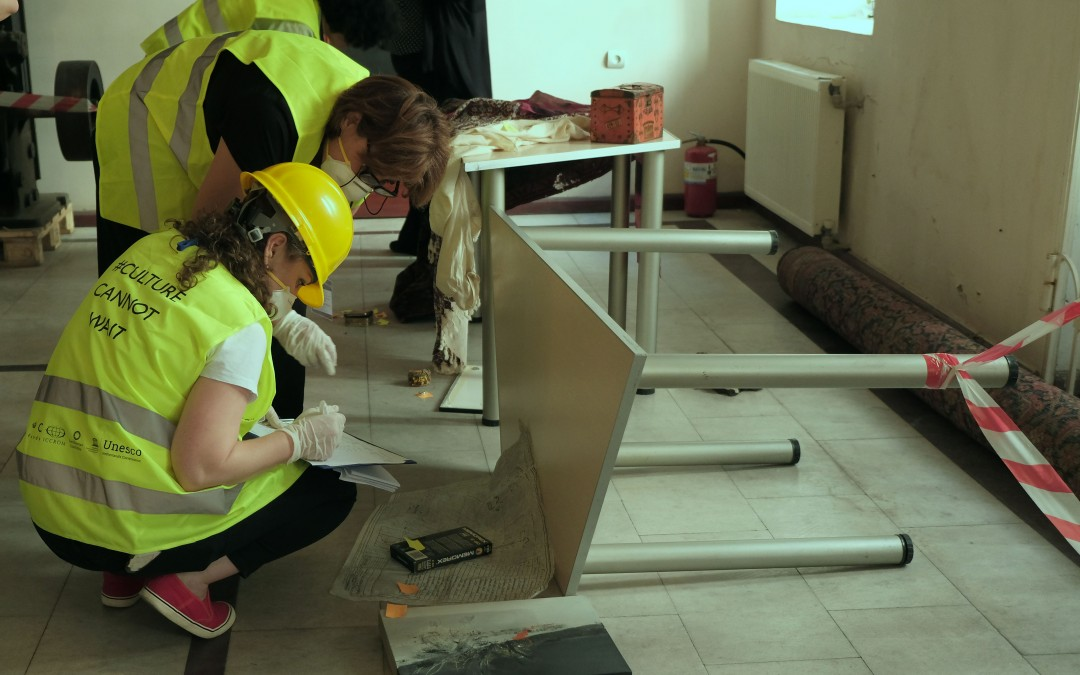 გამართულ მე-9 რეგიონული ტრენინგში სამხრეთ კავკასიის მუზეუმებისათვის – კულტურული მემკვიდრეობის დაცვა კრიზისულ სიტუაციებში