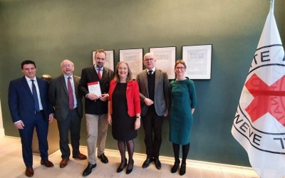Blue Shield signs agreement with International Committee of the Red Cross