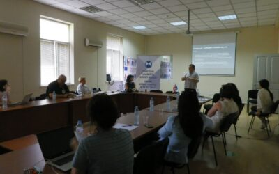 """The first working meeting with government agencies within the framework of the """"Planning for the Safeguarding of Cultural Heritage of Gori"""" project"""