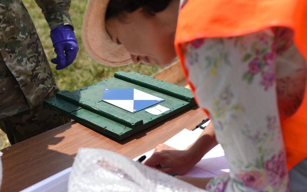 ლურჯმა ფარმა მონაწილეობა მიიღო საველე სწავლებაში ,,პალდო-2021''